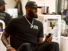 LeBron James The Shop
