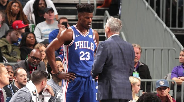 jimmy-butler-brett-brown-76ers-turmoil-e1546827456133
