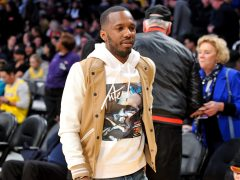 LOS ANGELES, CALIFORNIA - FEBRUARY 21: Agent Rich Paul attends a basketball game between the Los Angeles Lakers and the Houston Rockets at Staples Center on February 21, 2019 in Los Angeles, California. (Photo by Allen Berezovsky/Getty Images)